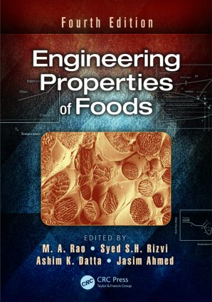 Engineering Properties of Foods: 4th Edition (Hardback) book cover