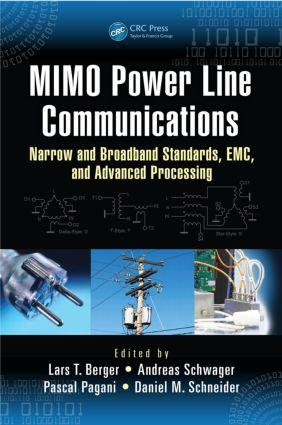 Multi-user MIMO for Power Line Communications