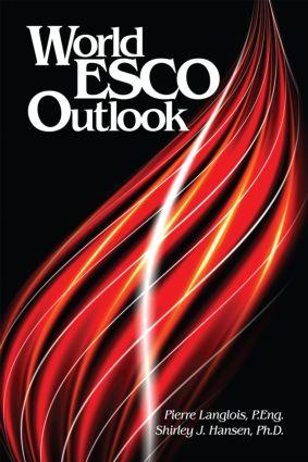 World ESCO Outlook: 1st Edition (Hardback) book cover