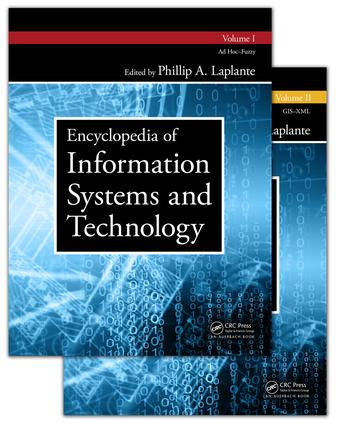 Encyclopedia of Information Systems and Technology - Two Volume Set: 1st Edition (Hardback) book cover