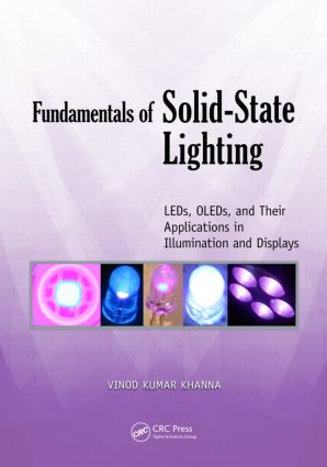 Fundamentals of Solid-State Lighting: LEDs, OLEDs, and Their Applications in Illumination and Displays, 1st Edition (Paperback) book cover