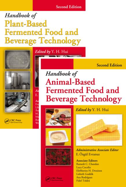 Handbook of Fermented Food and Beverage Technology Two Volume Set, Second Edition: 2nd Edition (Hardback) book cover