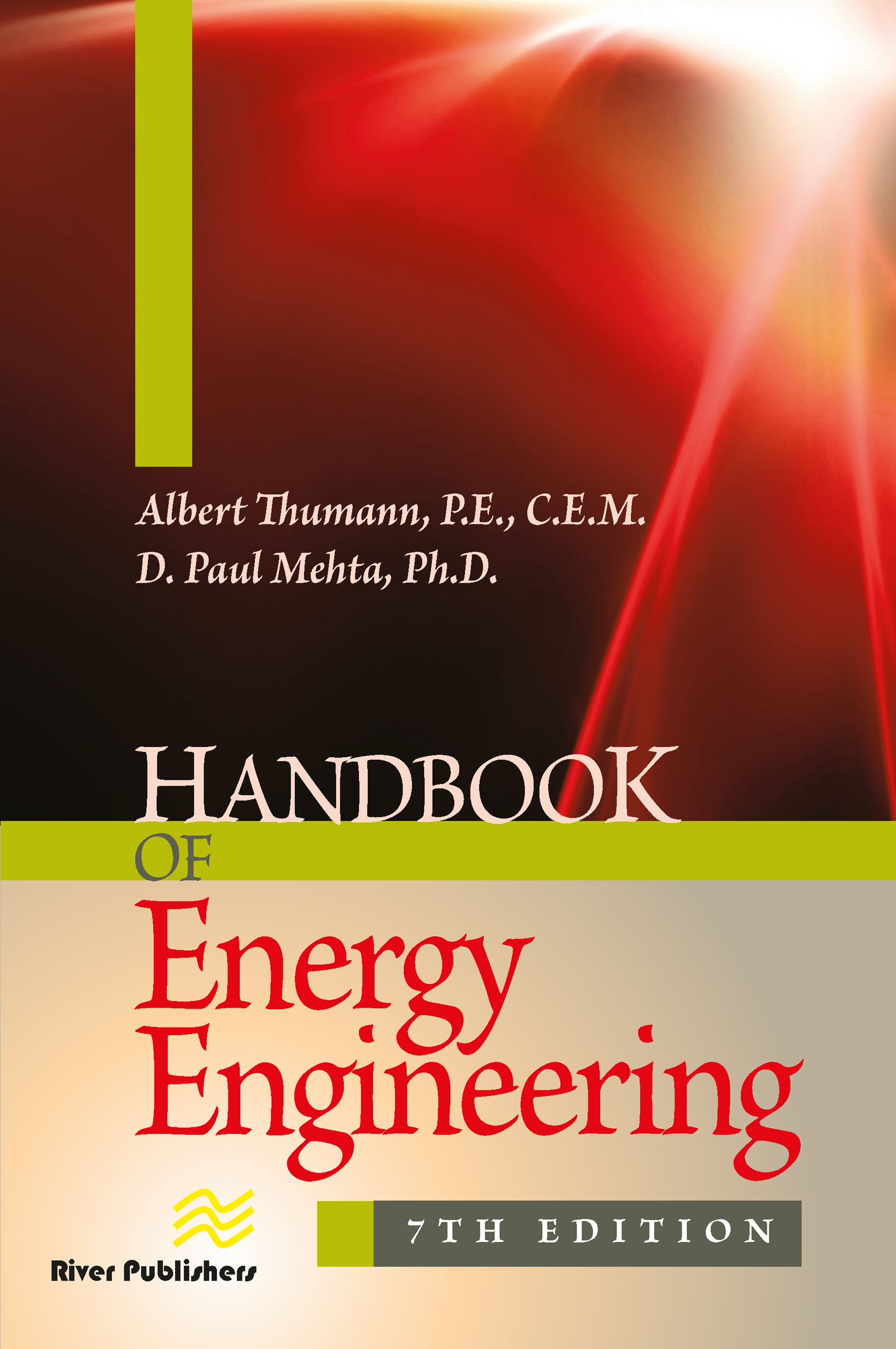 Handbook of Energy Engineering, Seventh Edition: 7th Edition (Hardback) book cover
