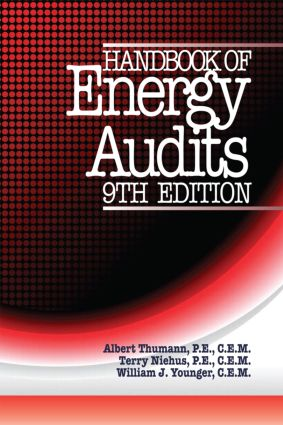 Handbook of Energy Audits, Ninth Edition: 9th Edition (Hardback) book cover
