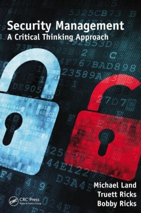 Security Management: A Critical Thinking Approach, 1st Edition (Hardback) book cover