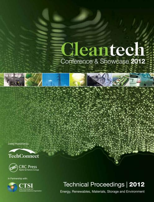 Cleantech 2012: Energy, Renewables, Materials, Storage and Environment, 1st Edition (Paperback) book cover