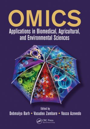 OMICS: Applications in Biomedical, Agricultural, and Environmental Sciences (Hardback) book cover