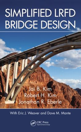Simplified LRFD Bridge Design: 1st Edition (Hardback) book cover