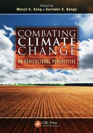 Combating Climate Change: An Agricultural Perspective, 1st Edition (Hardback) book cover