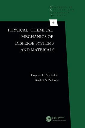 Physical-Chemical Mechanics of Disperse Systems and Materials: 1st Edition (Hardback) book cover