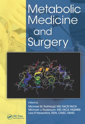 Metabolic Medicine and Surgery (Hardback) book cover