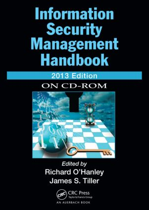 Information Security Management Handbook, 2013 CD-ROM Edition: 1st Edition (CD-ROM) book cover