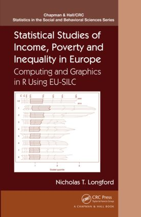 Statistical Studies of Income, Poverty and Inequality in Europe: Computing and Graphics in R using EU-SILC, 1st Edition (Hardback) book cover