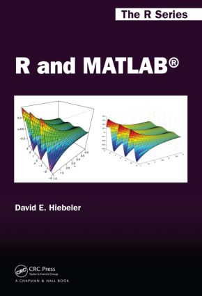 R and MATLAB book cover