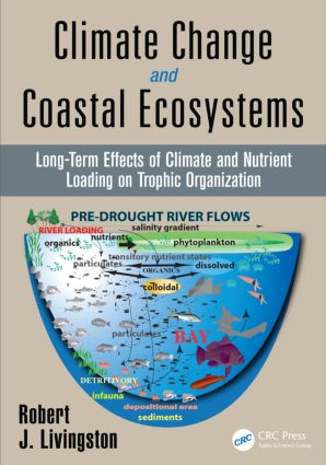 Climate Change and Coastal Ecosystems: Long-Term Effects of Climate and Nutrient Loading on Trophic Organization, 1st Edition (Hardback) book cover