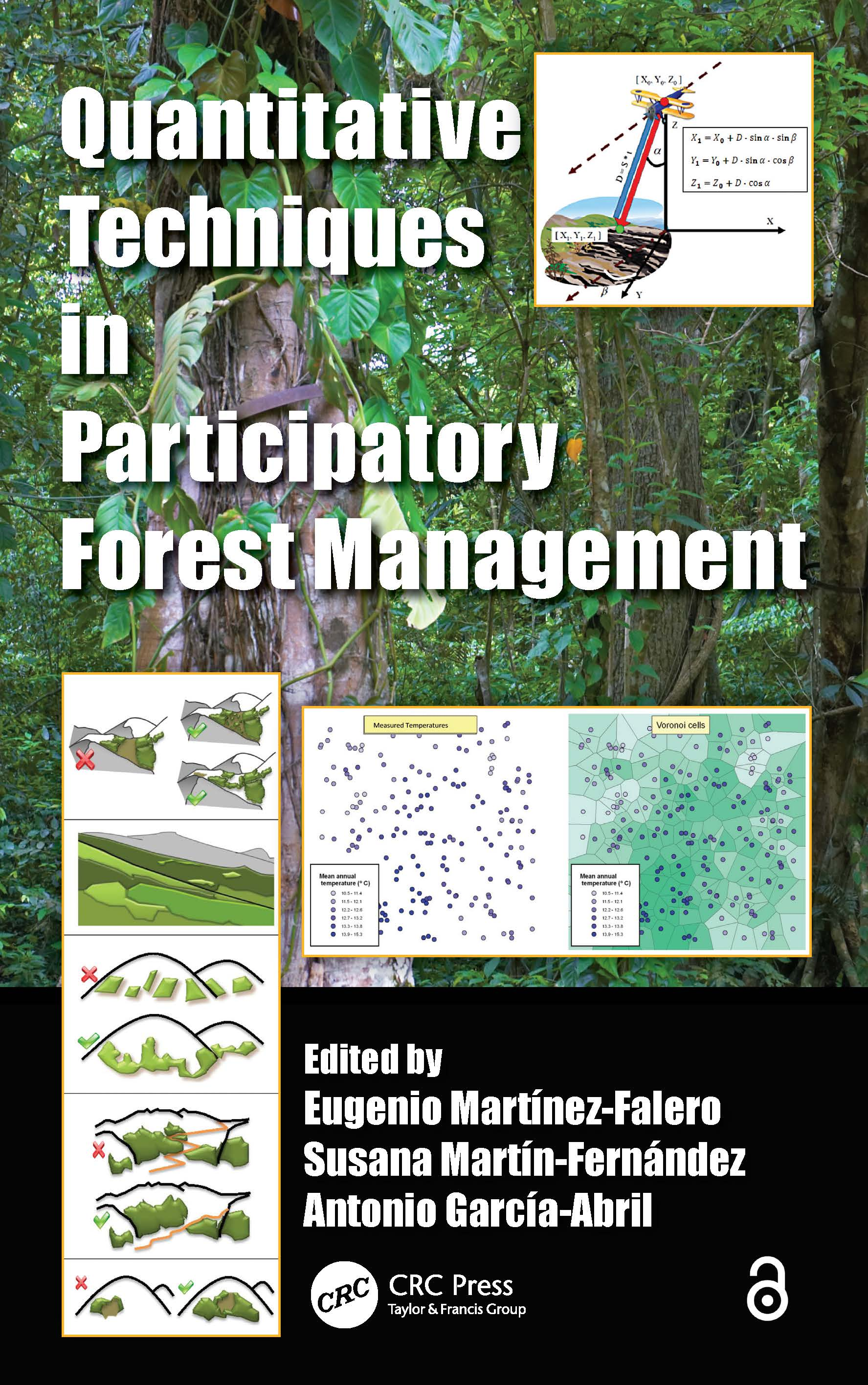 Quantitative Techniques in Participatory Forest Management (Hardback) book cover