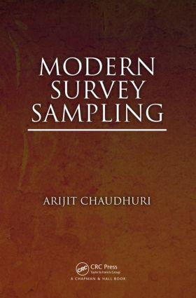 Modern Survey Sampling: 1st Edition (Hardback) book cover
