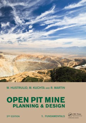 Open Pit Mine Planning and Design, Two Volume Set & CD-ROM Pack, Third Edition: 3rd Edition (Pack) book cover
