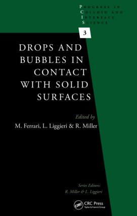 Drops and Bubbles in Contact with Solid Surfaces: 1st Edition (Hardback) book cover