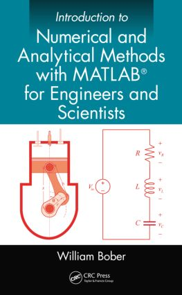 Introduction to Numerical and Analytical Methods with MATLAB® for Engineers and Scientists (Hardback) book cover
