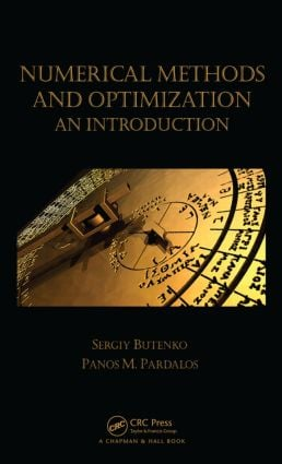 Numerical Methods and Optimization: An Introduction book cover