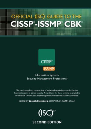Official (ISC)2® Guide to the CISSP®-ISSMP® CBK® book cover