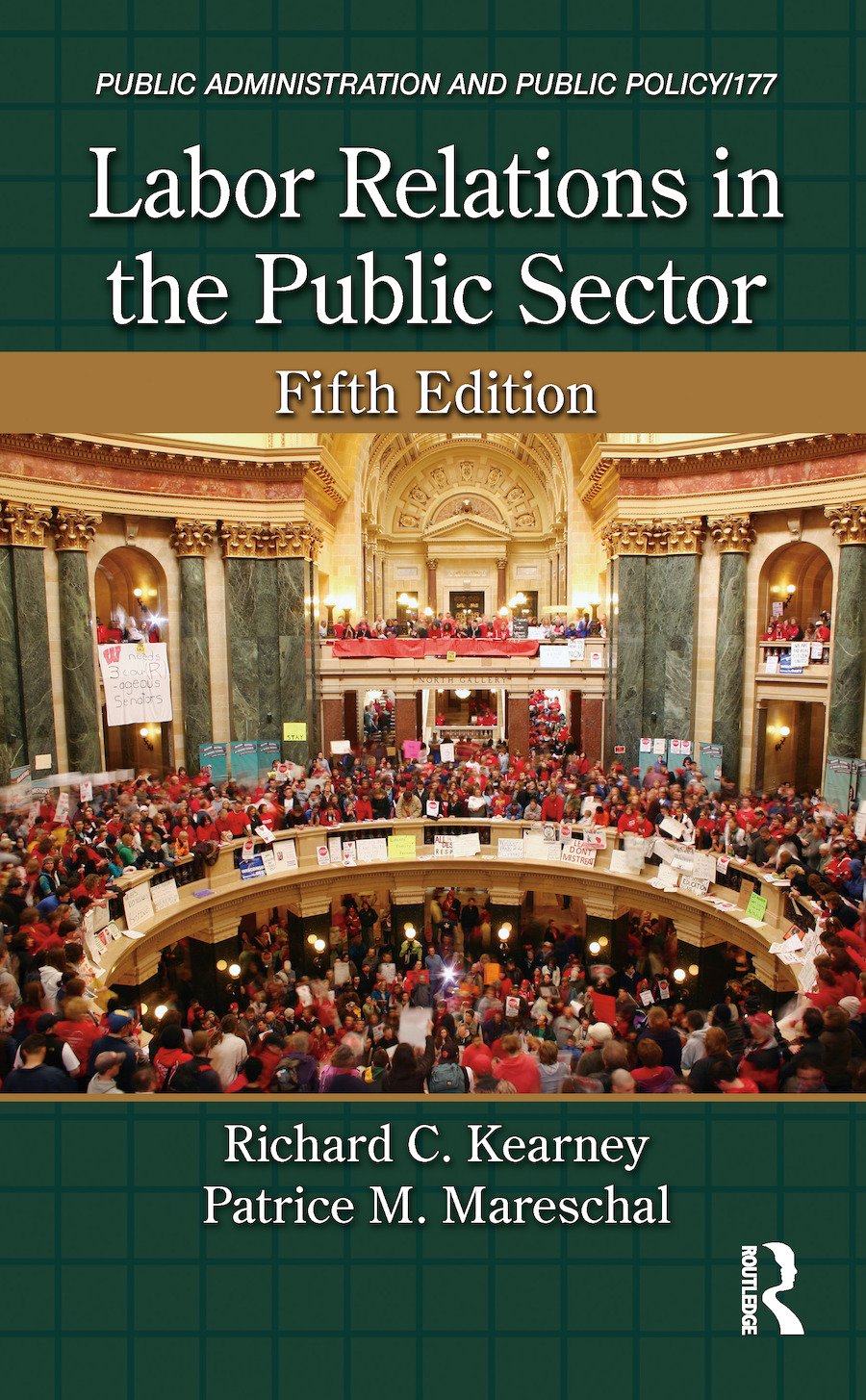 Labor Relations in the Public Sector, Fifth Edition: 5th Edition (Hardback) book cover