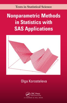 Nonparametric Methods in Statistics with SAS Applications (Paperback) book cover