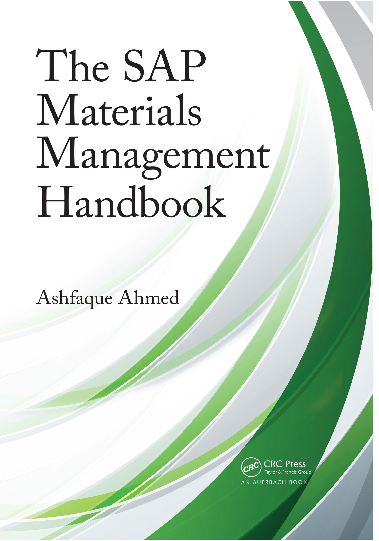 The SAP Materials Management Handbook: 1st Edition (Hardback) book cover