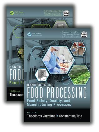 Handbook of Food Processing, Two Volume Set: 1st Edition (Hardback) book cover