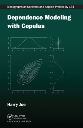 Dependence Modeling with Copulas book cover