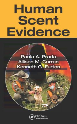 Human Scent Evidence: 1st Edition (Hardback) book cover