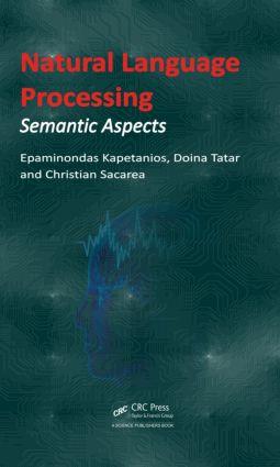 Natural Language Processing: Semantic Aspects (Hardback) book cover