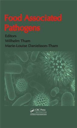 Food Associated Pathogens (Hardback) book cover