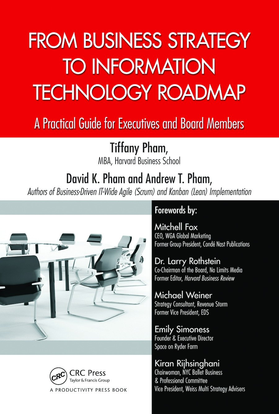 From Business Strategy to Information Technology Roadmap: A Practical Guide for Executives and Board Members, 1st Edition (Hardback) book cover
