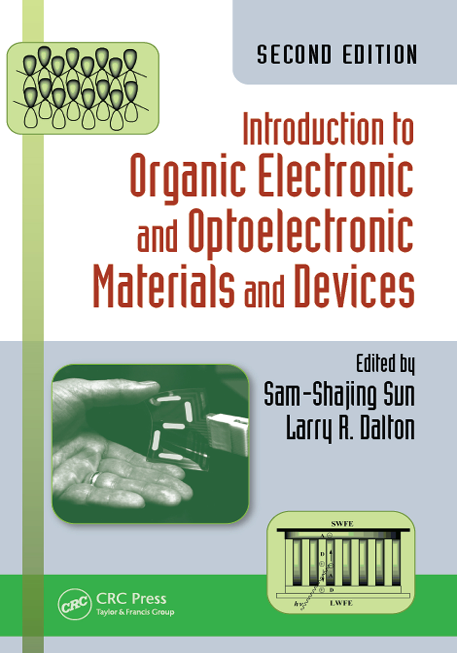 Introduction to Organic Electronic and Optoelectronic Materials and Devices: 2nd Edition (Hardback) book cover