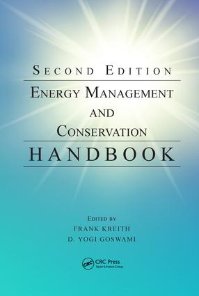 Energy Management and Conservation Handbook, Second Edition book cover