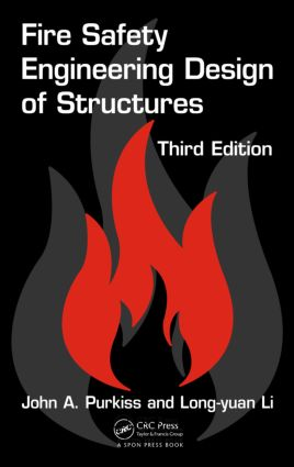 Fire Safety Engineering Design of Structures: 3rd Edition (Hardback) book cover