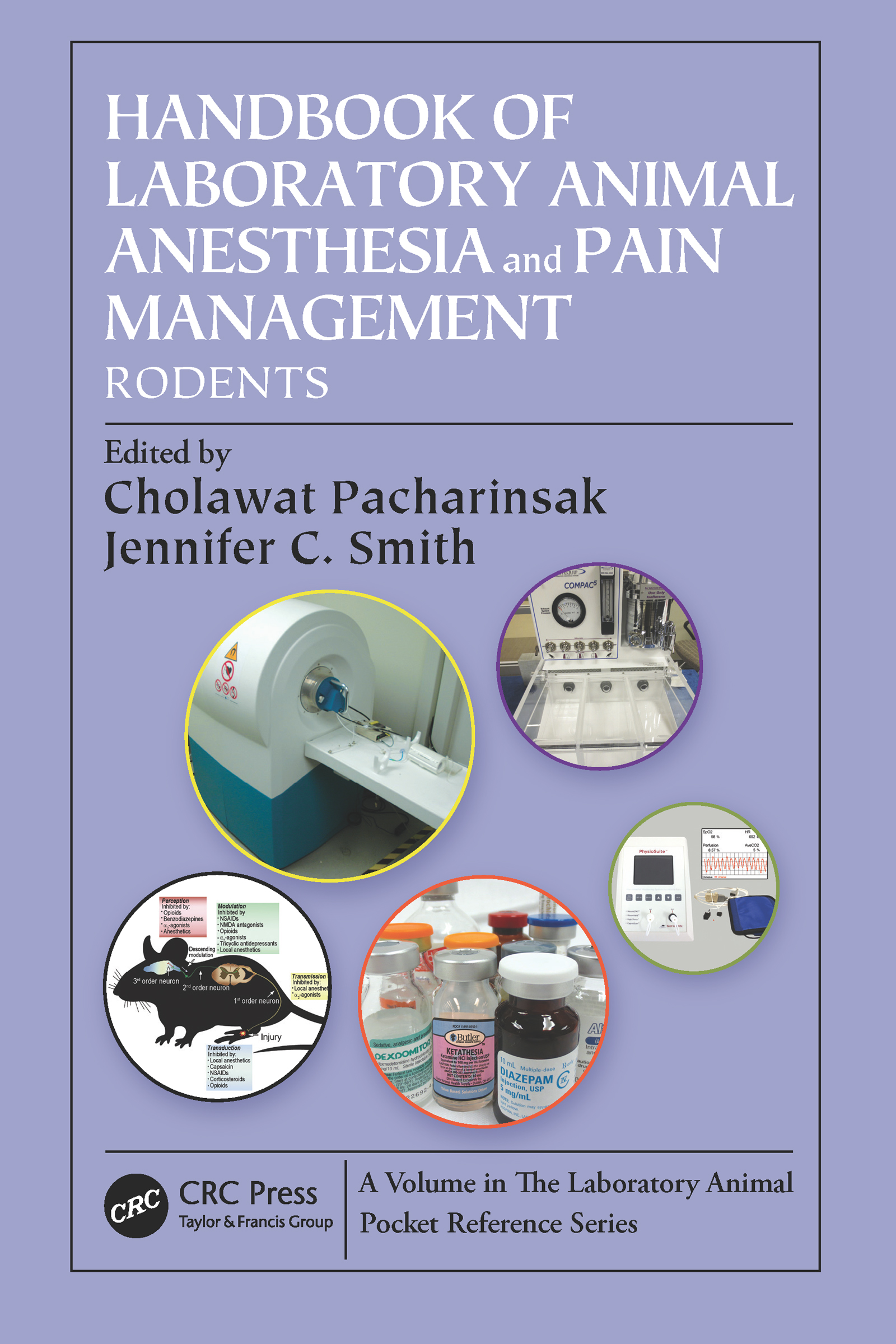 Handbook of Laboratory Animal Anesthesia and Pain Management: Rodents, 1st Edition (Paperback) book cover