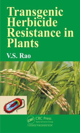 Transgenic Herbicide Resistance in Plants: 1st Edition (Hardback) book cover
