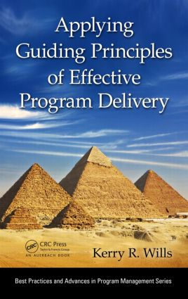 Applying Guiding Principles of Effective Program Delivery (Hardback) book cover