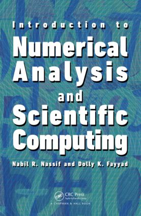 Introduction to Numerical Analysis and Scientific Computing (Hardback) book cover