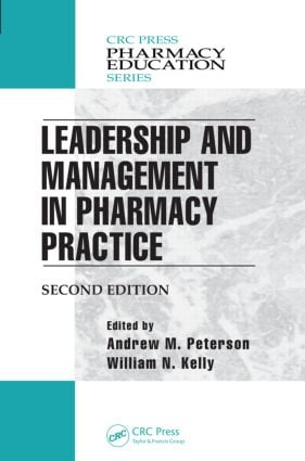 Leadership and Management in Pharmacy Practice book cover