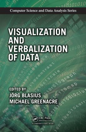 Visualization and Verbalization of Data: 1st Edition (Hardback) book cover