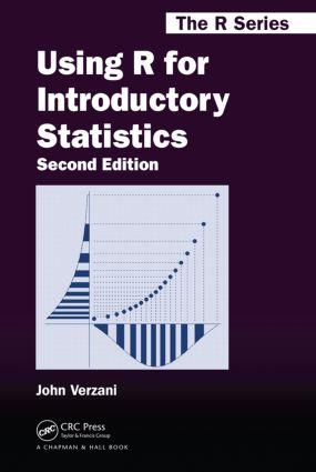 Using R for Introductory Statistics, Second Edition book cover
