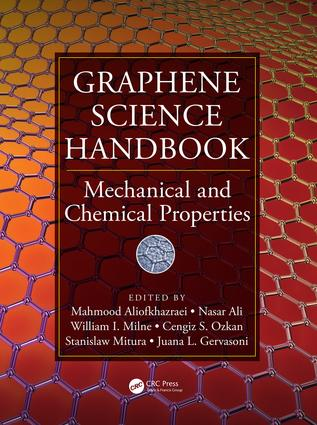 Graphene Science Handbook: Mechanical and Chemical Properties, 1st Edition (Hardback) book cover