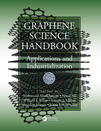 Graphene Science Handbook: Applications and Industrialization, 1st Edition (Hardback) book cover