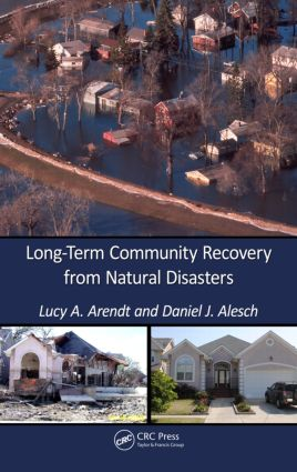 Long-Term Community Recovery from Natural Disasters: 1st Edition (Hardback) book cover