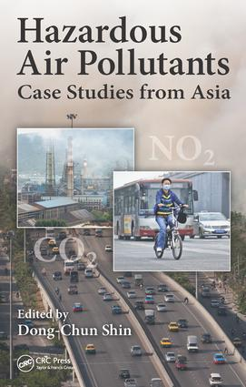 Hazardous Air Pollutants: Case Studies from Asia, 1st Edition (Hardback) book cover