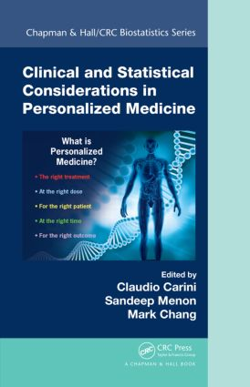 Clinical and Statistical Considerations in Personalized Medicine: 1st Edition (Paperback) book cover